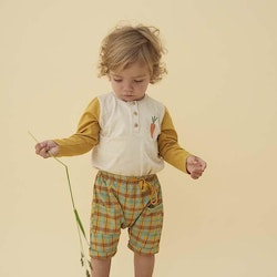 Soft Gallery - Flair Shorts Narcissus AOP Check