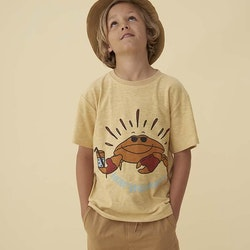 Soft Gallery - Asger T-shirt Jojoba Crab