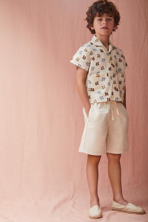 The New Society Eleonora Shirt Soft Woven Dallas