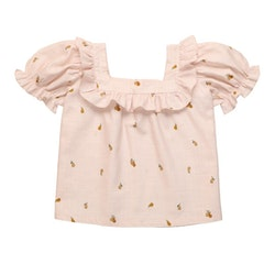 The New Society Rachel Blouse Soft Woven Pears
