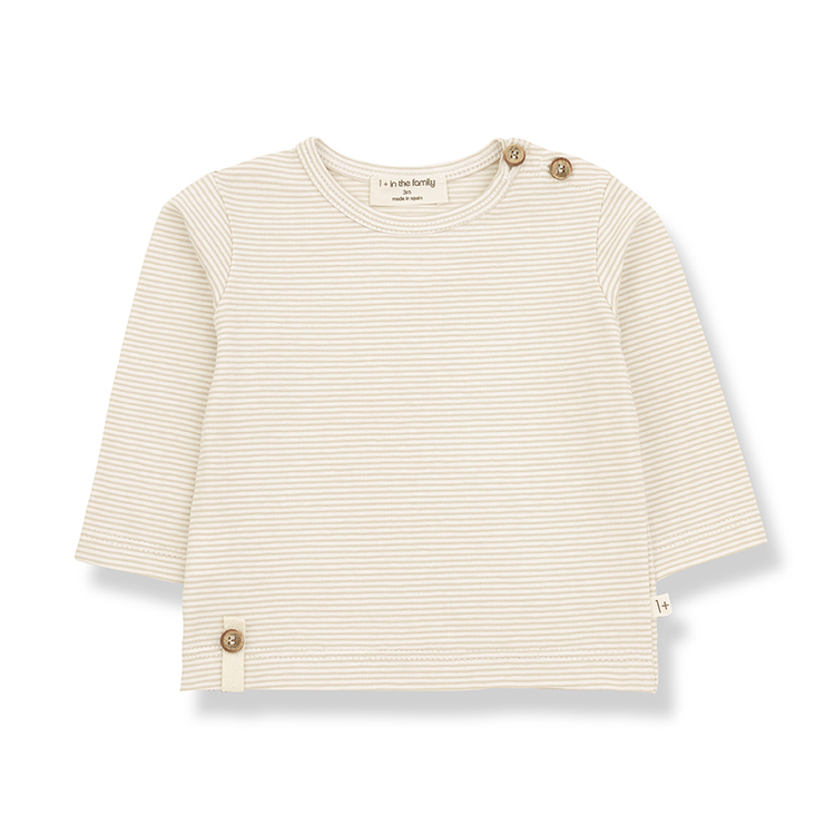 1+in the family ODON Long Sleeve T-shirt Beige