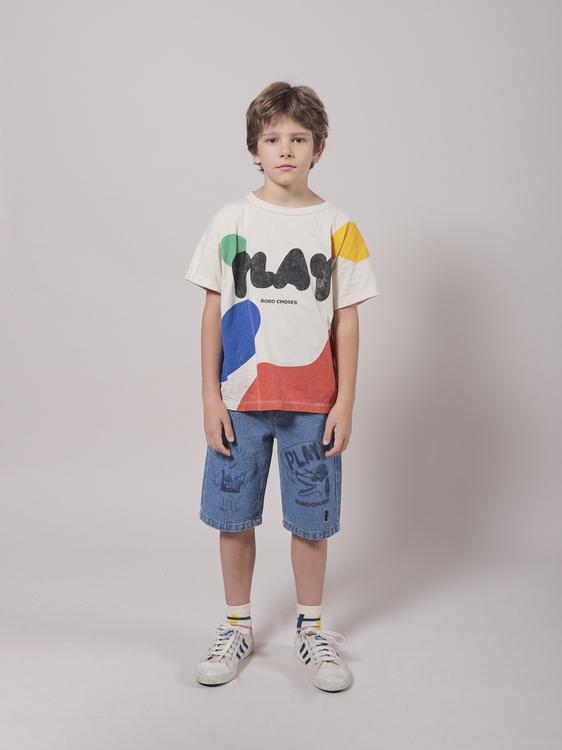 BoBo Choses Play Landscape Short Sleeve T-shirt