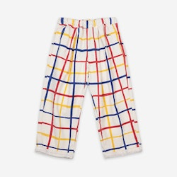Bobo Choses Multicolor Checkered Baggy Trousers