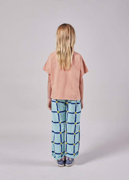 Bobo Choses Cube All Over Baggy Trousers