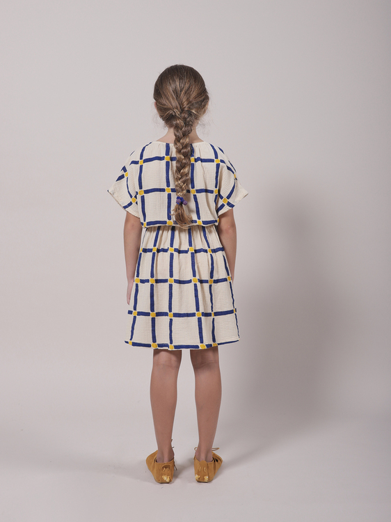 Bobo Choses Cube All Over Woven Dress