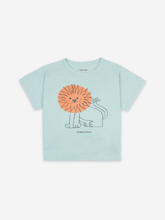 BoBo Choses Pet A Lion Short Sleeve T-shirt