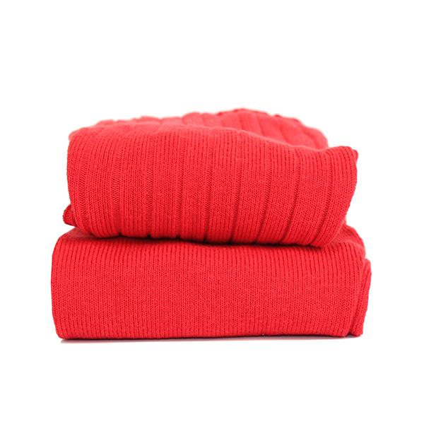 CÓNDOR - Wide Rib Basic Tights Red