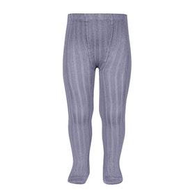 CÓNDOR - Wide Rib Basic Tights Lavender