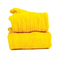 CÓNDOR - Wide Rib Basic Tights Yellow