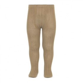 CÓNDOR - Wide Rib Basic Tights Camel