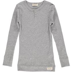 MarMar Copenhagen - Tee LS  Grey Melange