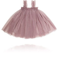 Dolly By Le Petit Tom TUTU Dress Beach Cover up Klänning Mauve