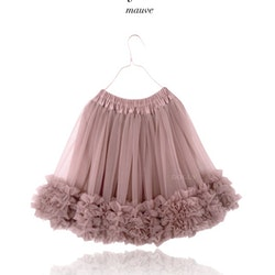 Dolly By Le Petit Tom Frilly Skirt  Kjol Mauve