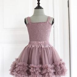 Dolly By Le Petit Tom Frilly Skirt  Kjol Mauve
