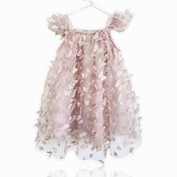Dolly By Le Petit Tom Allover Butterflies Tutu Dress Klänning Pink