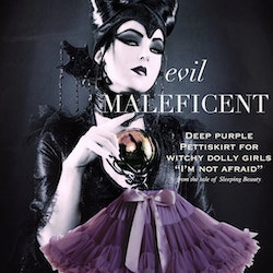 Dolly By Le Petit Tom Maleficent Pettiskirt Kjol Deep Purple