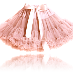 Dolly By Le Petit Tom Queen Of Fairies Pettiskirt Kjol Coral