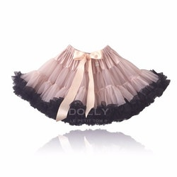 Dolly By Le Petit Tom Queen Of Contrast Pettiskirt Kjol Pink With Black