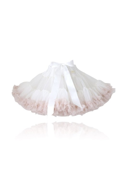 Dolly By Le Petit Tom Sweet Queen Pettiskirt Kjol Off-White Ballet Pink
