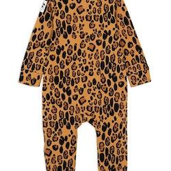 Mini Rodini Basic Leopard Jumpsuit Beige
