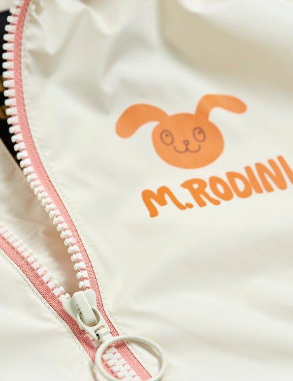 Mini Rodini Rabbit Vindjacka Off White