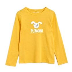Mini Rodini Rabbit Långärmad T-shirt Yellow