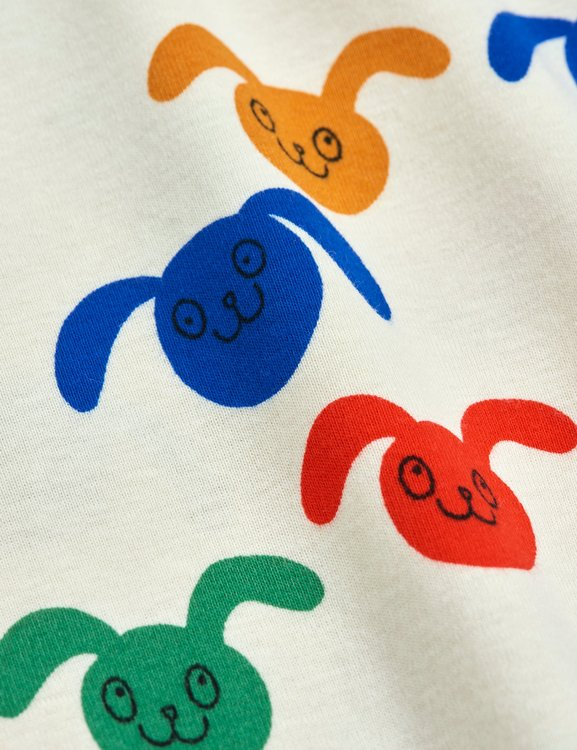 Mini Rodini Rabbit Aop SS T-shirt Multi
