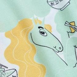 Mini Rodini Unicorn Noodles AOP SS T-shirt Green
