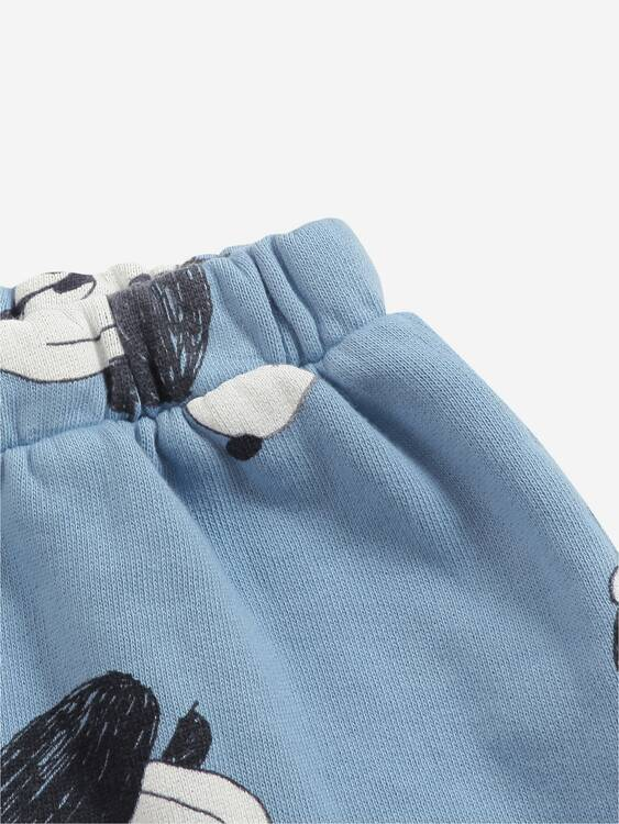 Bobo Choses doggie all over jogging pants forever blue