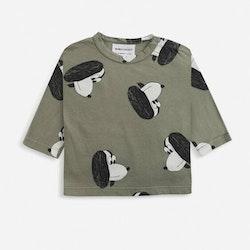 Bobo Choses Doggie all over long sleeve T-shirt dark green