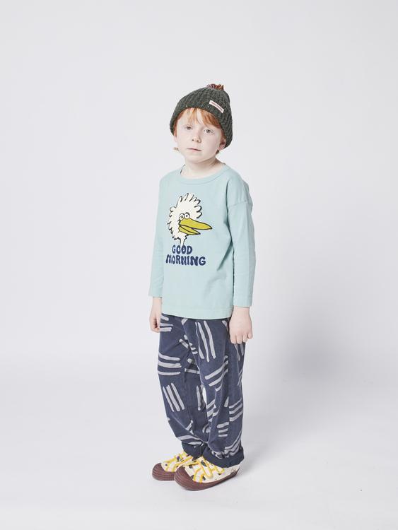 Bobo Choses Birdie long sleeve T-shirt wasabi