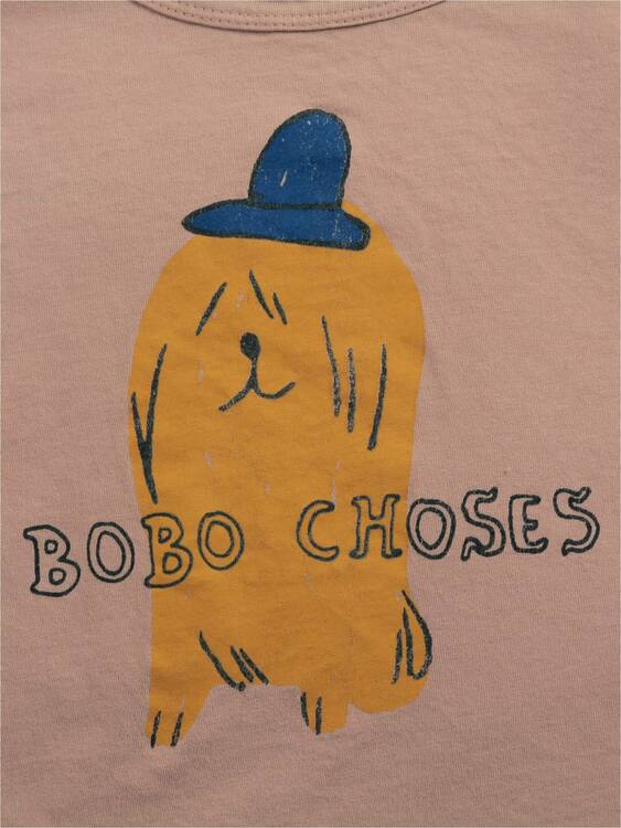 Bobo Choses Dog in a hat long sleeve T-shirt tuscany