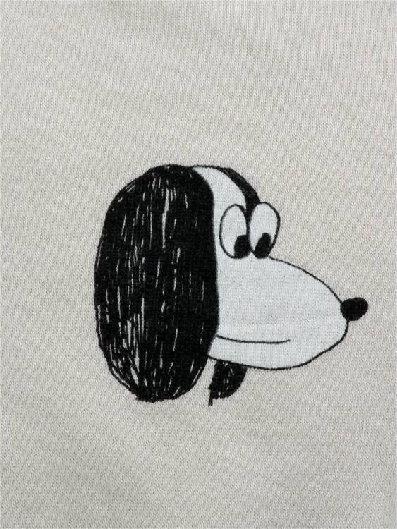 Bobo Choses Doggie all over sweatshirt jet stream