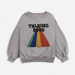 Bobo Choses Talking Bobo Rainbow sweatshirt porpoise