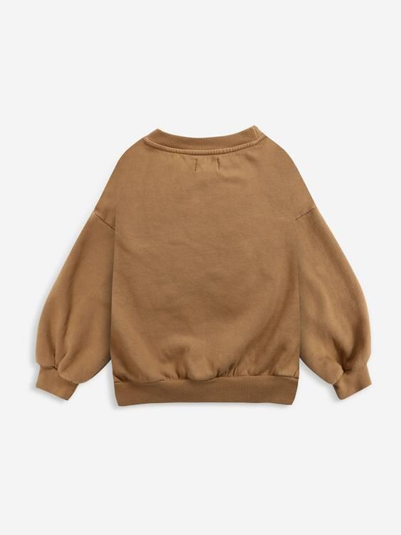 Bobo Choses Birdie sweatshirt apple cinnamon