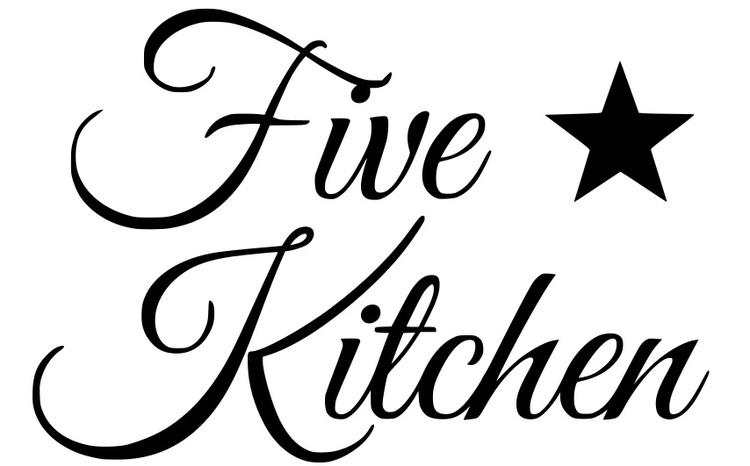 Väggdekor - Five star Kitchen