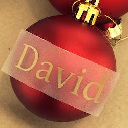 Text till julkula #1