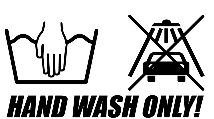 Dekal - HAND WASH ONLY! #1