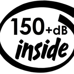 Dekal - 150+dB inside