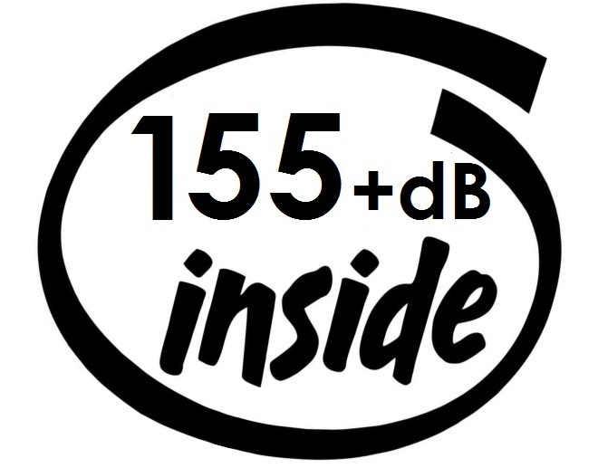 Dekal - 155+dB inside