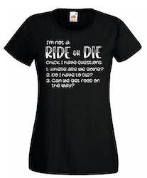RIDE or DIE | Tshirt dam