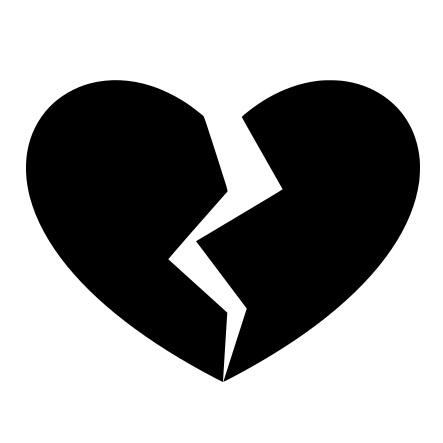 Dekal - Broken heart