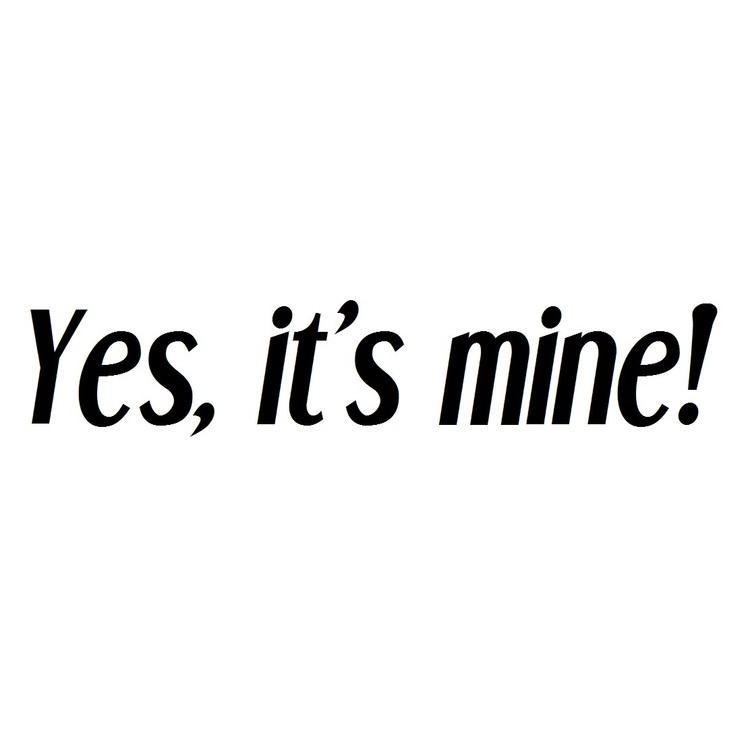 Dekal - Yes, it's mine!