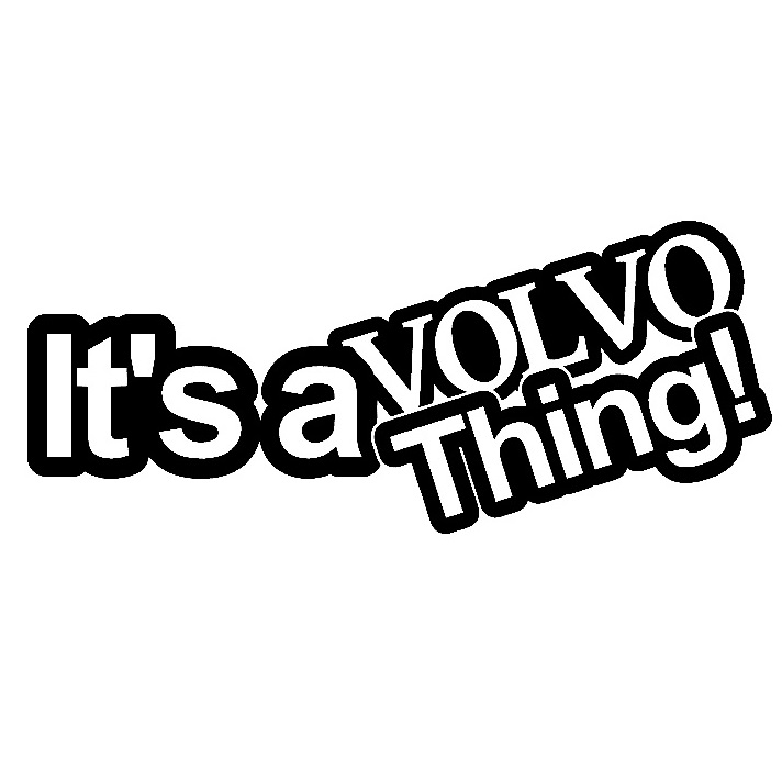 Dekal - It's a volvo thing