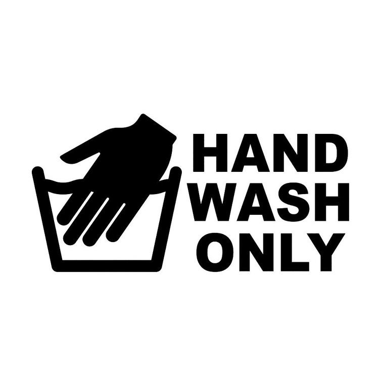 Dekal - HAND WASH ONLY #2