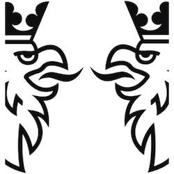 Dekal - Halv SCANIA / SAAB Gripen