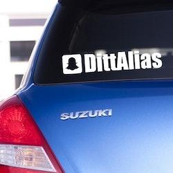 Dekal - Snapchat alias