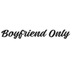Dekal - Boyfriend Only #1