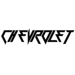 Dekal - Chevrolet