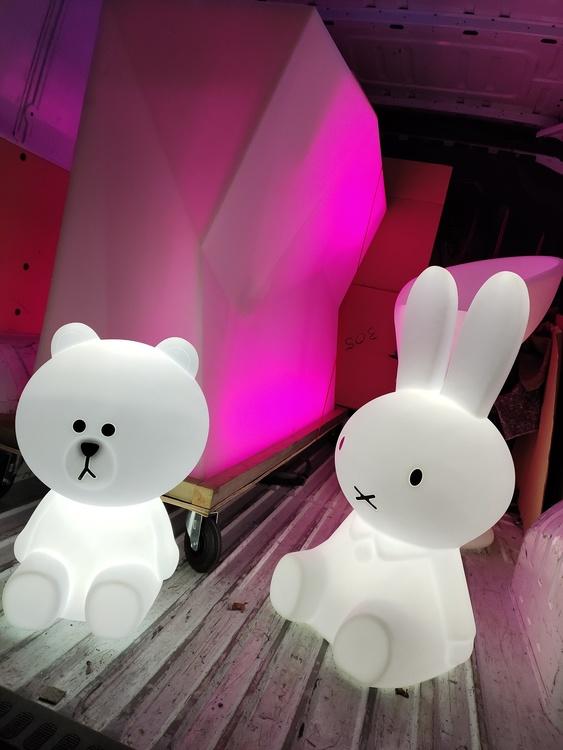 Decora Joey & Joe - RGB LED แบบชาร์จไฟได้